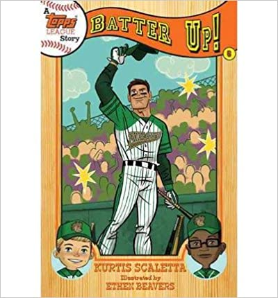By Scaletta, Kurtis [ Batter Up! [With 4 Baseball Cards] (Topps League Stories#06) ] [ BATTER UP! [WITH 4 BASEBALL CARDS] (TOPPS LEAGUE STORIES (PAPERBACK) #06) ] Apr - 2013 { }