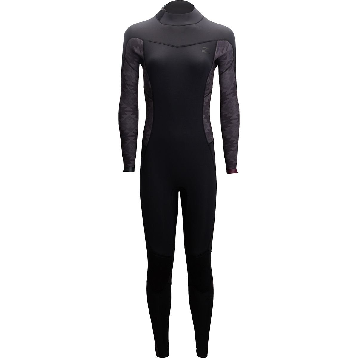Billabong 3 / 2 Synergy back-zip Full Wetsuit – Women 's B01J774SMC 6|ブラック ブラック 6