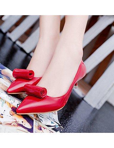 5 us5 Eu39 Pantuflas Zapatos Mujer us8 Kitten Zq Gris negro Gray De tac¨®n Eu36 Red Uk6 vestido Uk3 Punta Cn35 5 Cerrada zuecos Rojo Cn39 pu puntiagudos Y Casual SvHwHgxq