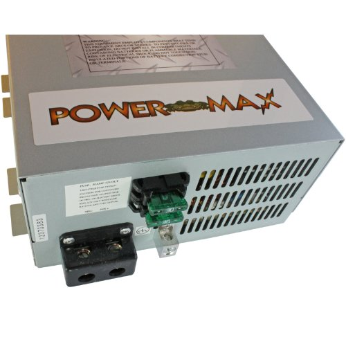 Powermax 110 Volt AC to 12 Volt DC Power Supply Converter Charger for Rv  Pm3-45 (45 Amp)