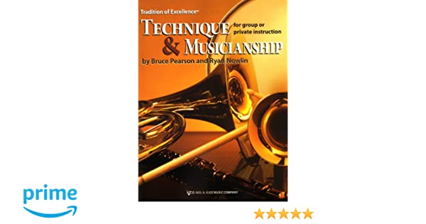 W64tb Tradition Of Excellence Technique Musicianship Trombone