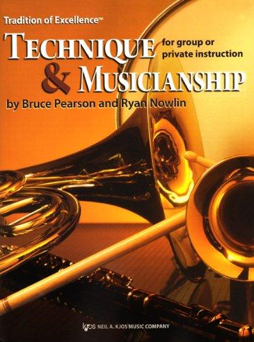 W64XR - Tradition of Excellence Technique & Musicianship - Eb Baritone Saxophone