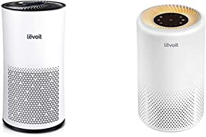 LEVOIT Air Purifier for Home Large Room with H13 True HEPA Filter & Air Purifiers for Home Allergies and Pets Hair, H13 True HEPA Air Purifier Filter, Quiet Filtration, Night Light & Timer, Vista 200