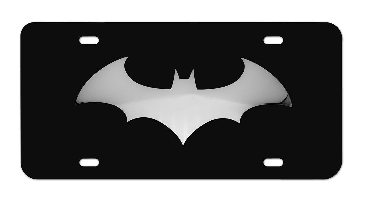 Elektroplate Batman Bat Stainless Steel 3D Black License Plate