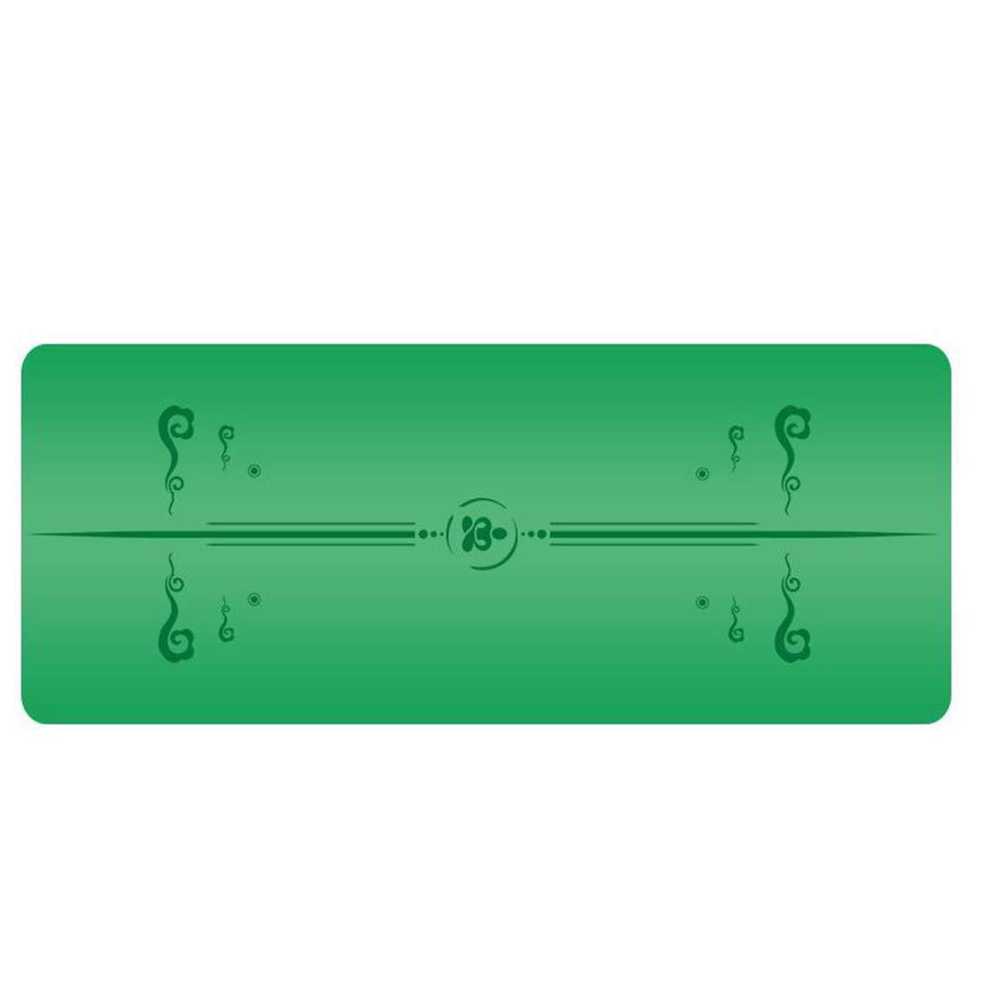Koloeplf 健康とフィットネス万能の余分な厚い高密度抗涙運動泡ヨガマットストラップヨガマットを運ぶと (Color : ピンク, サイズ : 185cm*68cm*3mm) B07M8F4DTV 185cm*68cm*5mm|オレンジ オレンジ 185cm*68cm*5mm