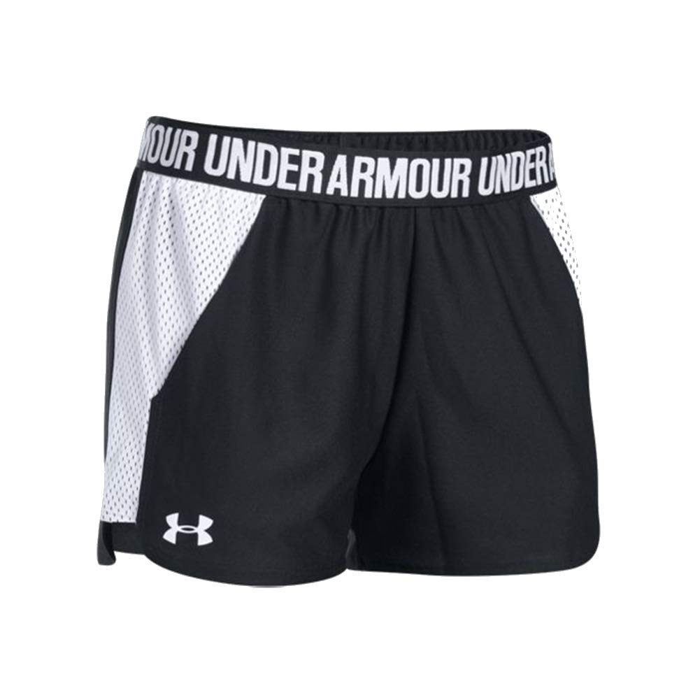Under Armour Womens Play Up Short 2.0 Mesh Inset