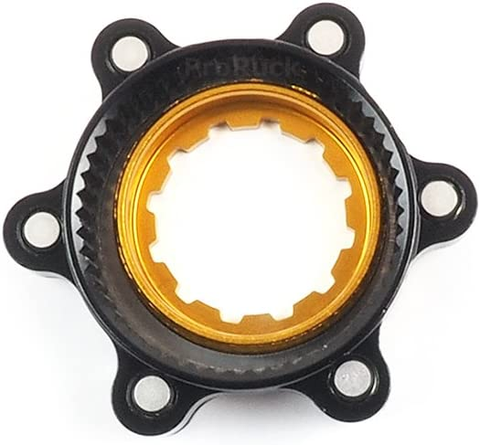 Brake Disc Converter for 6 Bolt Rotors Fit for Shimano Centre-Lock hubs MTB Aluminum Centerlock to 6-Bolt Rotor Disc Adapter