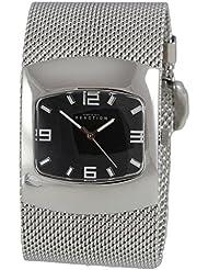 Kenneth Cole Reaction Womens Watch Silver-Tone Steel Mesh Bracelet RK4074