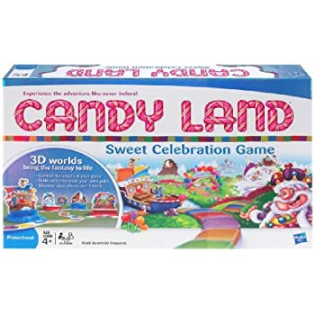 Amazon Com Milton Bradley Candyland Sweet Celebration