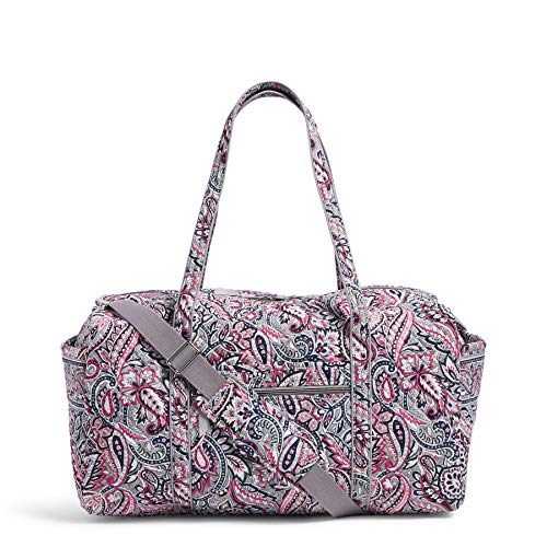 Vera Bradley Women's Signature Cotton Large Travel Duffle Bag