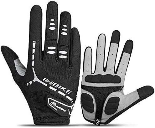 Mini gloves 男子Wのための多目的屋外の手袋を実行乗馬モーターサイクリングスケートのためにスポーツスマートフォンのタッチスクリーン手袋クライミングメンズサイクリンググローブ屋外防風作業サイクリングサイクリング狩猟 (Color : Black, Size : XLarge)