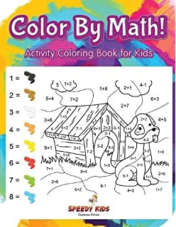 Color By Math Activity Coloring Book For Kids