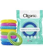 Cliganic Mosquito Repellent Bracelets, DEET-Free Waterproof Bands