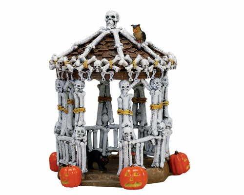 Lemax Spooky Town Skeleton Gazebo # 73609