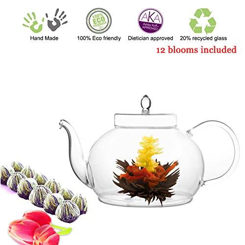 Tea Beyond Tea Set Teapot Polo 45 Oz/1330 Ml and English Breakfast Flowering ...