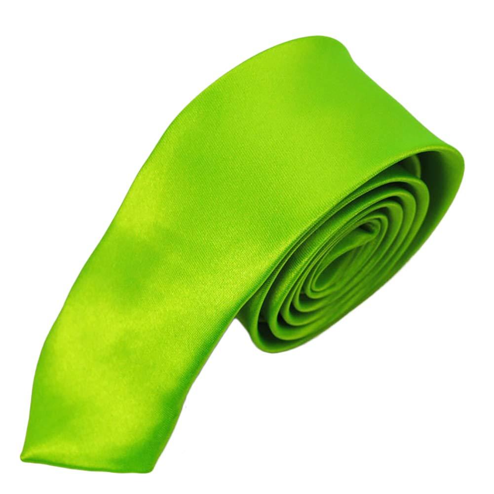 JUNGEN Corbata de Hombre con Color Liso Corbata de Informal ...