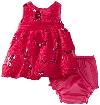 Amazon.com: Rare Editions Baby Girls Newborn Sequin