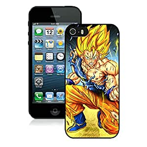 Fashion Designed Dragon Ball 49 Black iPhone 5S Phone Case