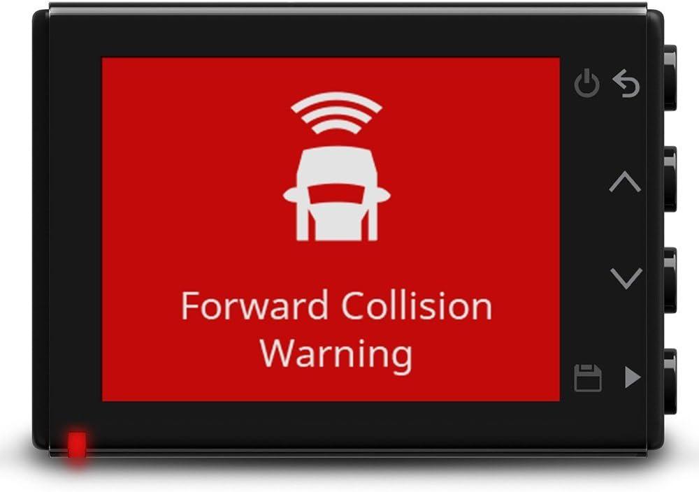 2,1 MP Kamera mit Schnappschussfunktion Go!-Alarm und /Überwachungsmodus beim Parken General/überholt Fahrspurassistent ultrakompaktes Design Garmin Dash Cam 45