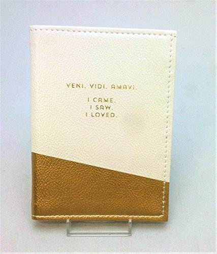 C.R. Gibson Passport Holder - Veni Vidi (Pah Accent)