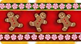 Gingerbread Kitchen Rugs Toland Home Garden Gingerbread Men 20 x 38-Inch Decorative USA-Produced Anti-Fatigue Standing Desk Comfort Designer Mat