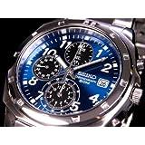 セイコー SEIKO クロノグラフ 腕時計 SND193 腕時計 海外インポート品 セイコー[逆輸入] mirai1-6002-ah [並行輸入品] [簡素パッケージ品]