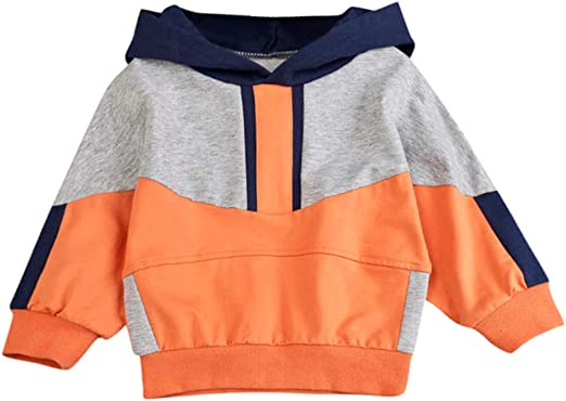 Newest Baby Christmas Knitted Sweater Newborn Infant Baby Boys Girls Long Sleeve Pullover Sweatershirt Tops Blouse age:18-24month, Orange