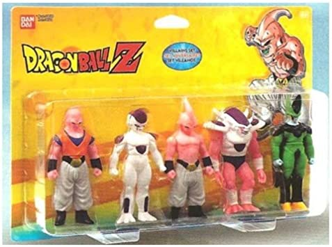 Bandai 34502 - Dragon Ball Z, Pack de 5 Figuras (adversarios ...