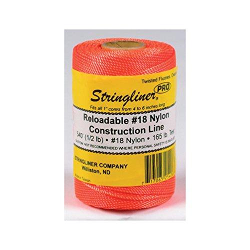 Stringliner Line Refill Shrinkwrapped Orange by Stringliner