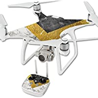 Skin For DJI Phantom 4 Quadcopter Drone – Modern Marble | MightySkins Protective, Durable, and Unique Vinyl Decal wrap cover | Easy To Apply, Remove, and Change Styles | Made in the USA