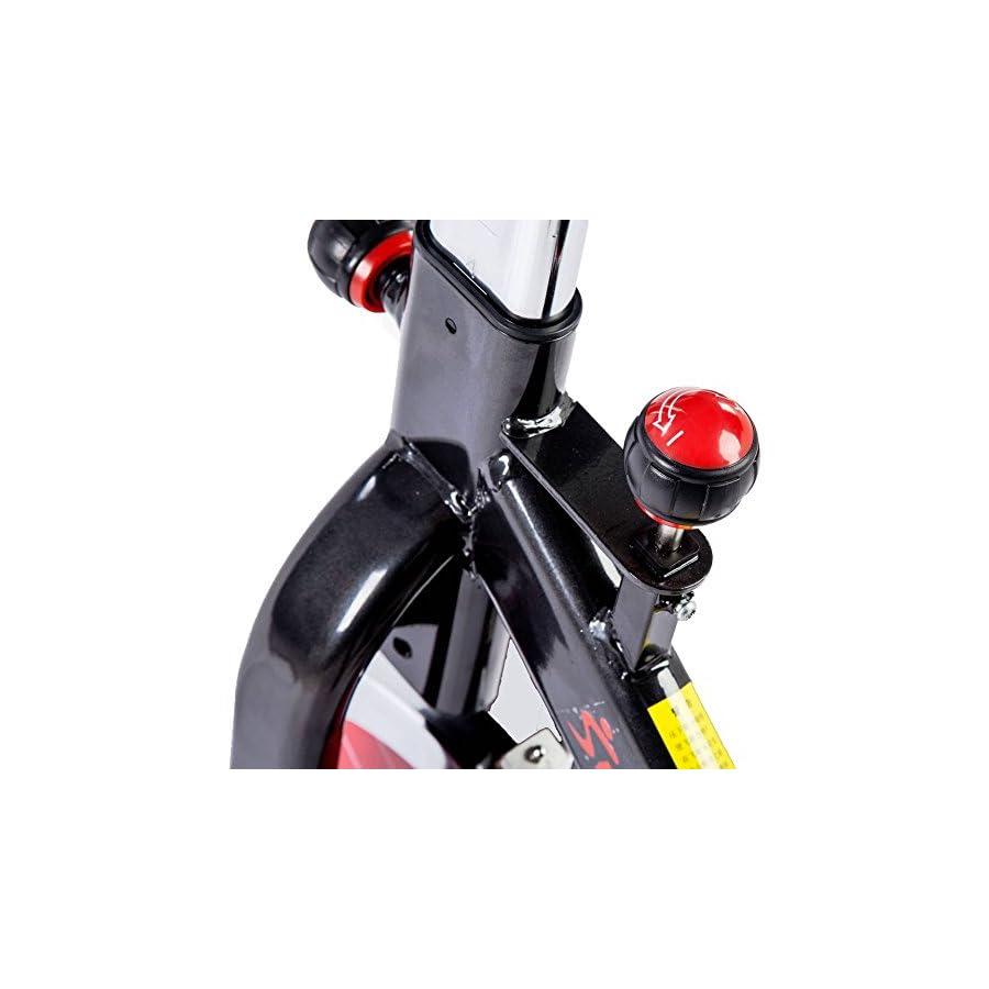 Sunny Health & Fitness Indoor Cycle Trainer 49 lb. Flywheel
