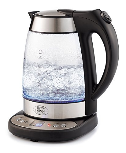 Electric Glass Digital Tea Kettle with FREE Tea Infuser