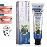 Active Charcoal Toothpaste,Teeth Whitening and Deep Cleansing Toothpaste,Naturally Eliminates Bad Breath,Black Toothpaste,MINT FLAVOR,Herbal Decay Treatment