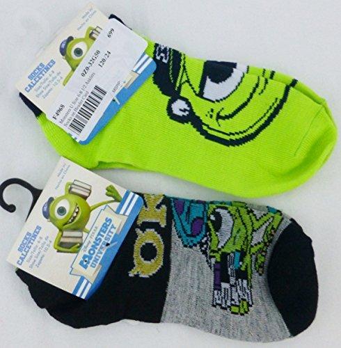 Disney Pixar Monsters University Set of 3 Anklet Child Socks - Sock (Size 6-8 / Shoe 10.5-4)
