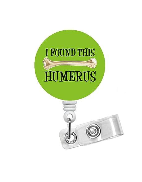 Amazon.com: Humerus Badge Green - Ortho Tech Badge - Ortho Nurse ...