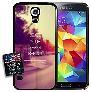 Leave Your Fears Behind Quote Hipster Galaxy S5 Hard Case