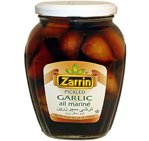 Zarrin Pickled Garlic, 24 Oz