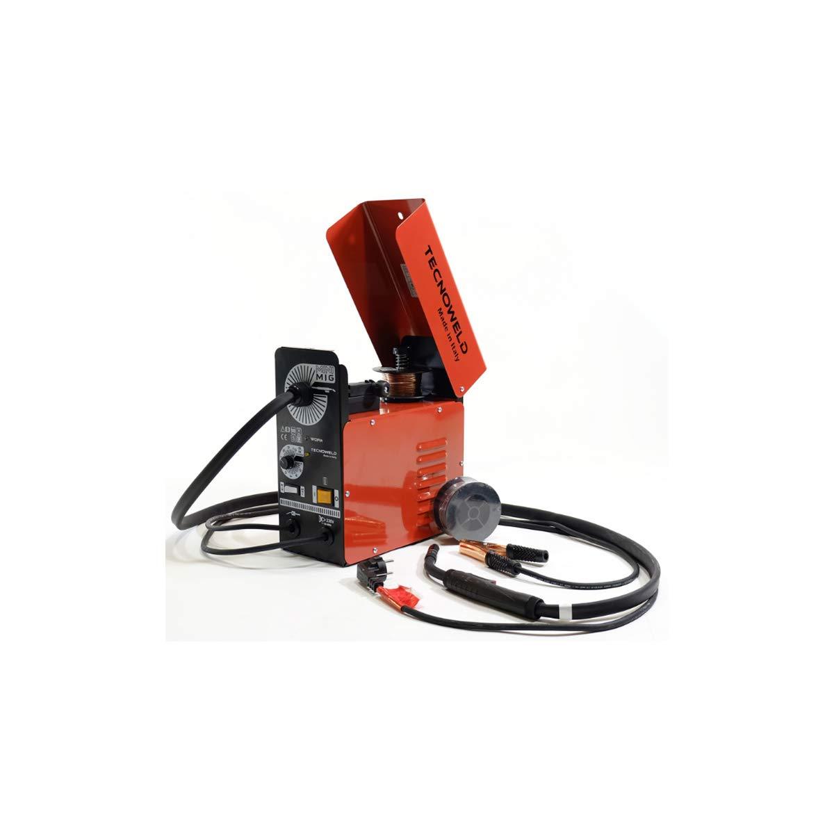 Soldador Mig No Gas tecnoweld - Mini Mig + accesorios: Amazon.es: Bricolaje y herramientas