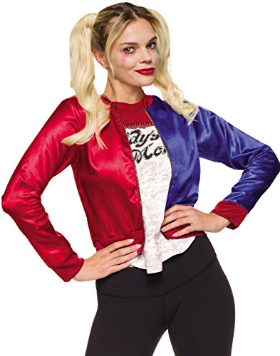 Rubie's Costume Co Women's Suicide Squad Harley Quinn Costume Kit, Multi, Medium