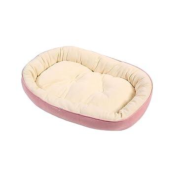 AOLVO Cama para Perro, algodón Transpirable, Cama para Perro, caseta para Gatos/