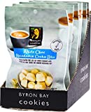 Byron Bay Cookies White Choc Macadamia Cookie Bites 6 x 100g