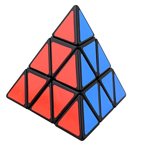 Pyramid Brain Teaser Magic Puzzle Cube Black ()
