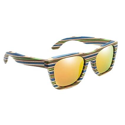CUTICATE Gafas De Sol De Madera Polarizadas Que Conducen La ...