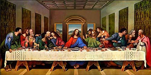 21secret 5D Diamond Diy Painting Full Drill Handmade The Last Supper Christianity Jesus Religious Cross Stitch Home Decor Embroidery Kit