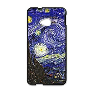 Van gogh starry night paintings Cell Phone Case for HTC One M7