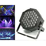 Jeteven 36W LED Stage Laser Lights DJ Par Lights RGB DMX512 Auto/Sound Activated for Disco DJ Clubs Bar KTV Party