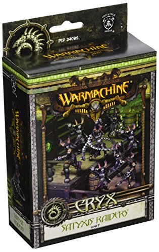 (Privateer Press - Warmachine - Cryx: Satyxis Raiders Model Kit)
