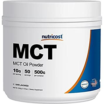 Nutricost MCT Oil Powder 500 Grams