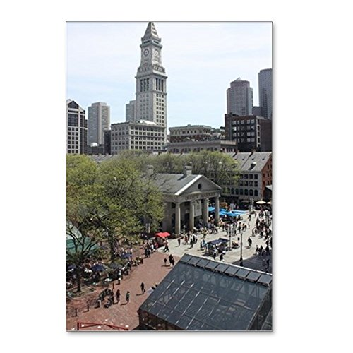 CafePress - Quincy Market In April - Postcards (Package of 8), 6