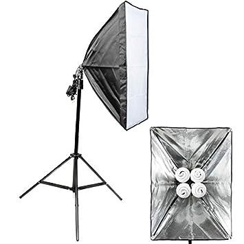fotolampe quenox tageslicht boden 120w 520w 8000 lumen 85 ra softbox energieeffizienzklasse fotolampen ebay